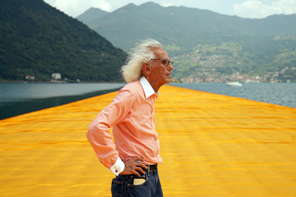Christo (1935–2020) - Christo at The Floating Piers, June 2016